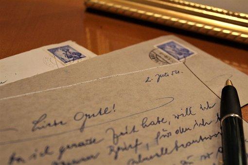 Cartas de amor en inglés